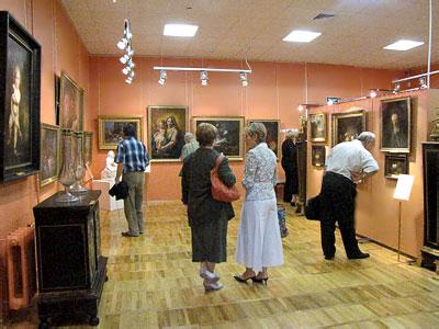 В зале западноевропейского искусства