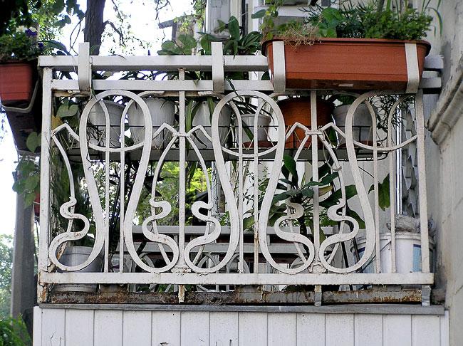 Социалистическая 60, балконное ограждение, Ростов-на-Дону, фото Веры Волошиновой