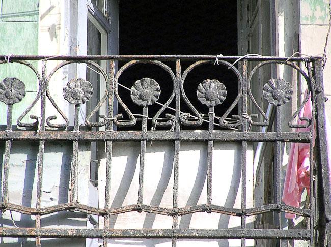 Станиславского 91, балконное ограждение, Ростов-на-Дону, фото Веры Волошиновой
