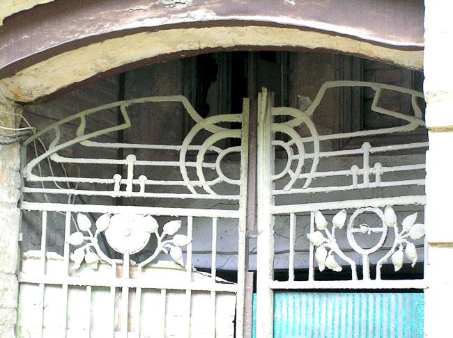 Станиславского 224, фрагмент ворот, Ростов-на-Дону, фото Веры Волошиновой
