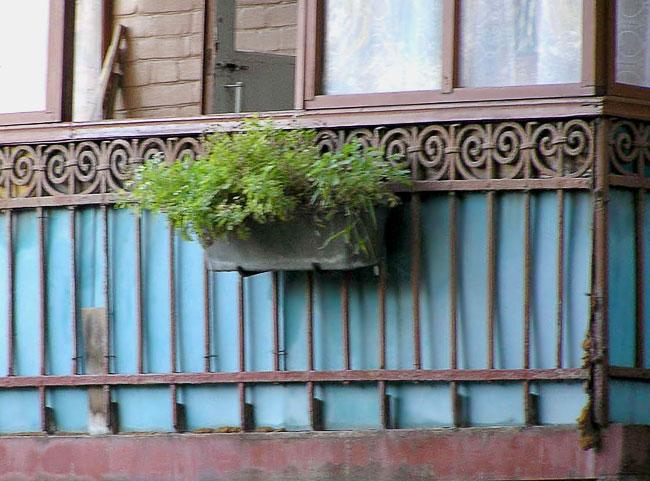 Чехова 5, балконное ограждение, Ростов-на-Дону, фото Веры Волошиновой