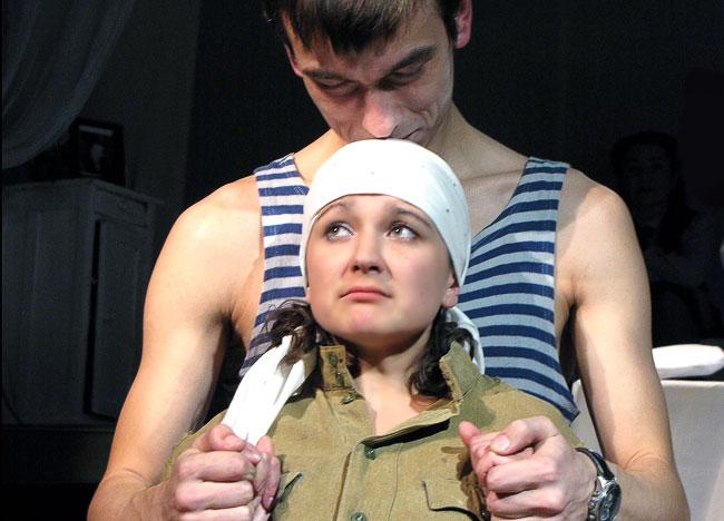 Спектакль Счастье моё...в Шахтинского драматического театра, фото Веры Волошиновой