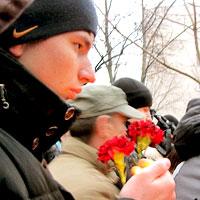 На вечере памяти Максима Сычева в Студенческом парке в Ростове-на-Дону, фото Веры Волошиновой