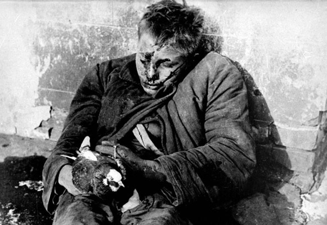 Витя Черевичкин, 1941 год, Ростов-на-Дону, Фото Макса Альперта
