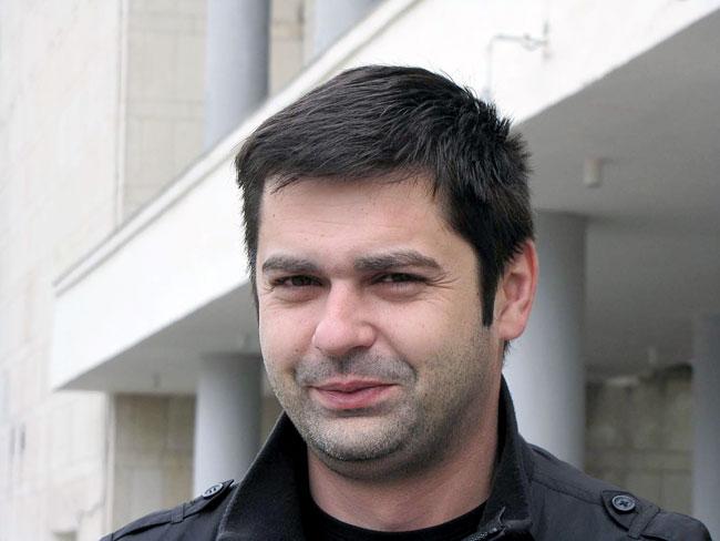 Режиссер Богдан Петканин, фото Веры Волошиновой