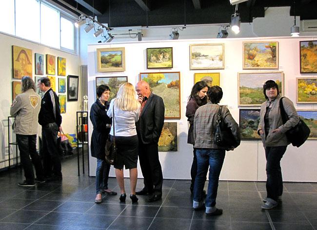 Выставка Калуста и Бориса Мовсесяна в М-галереи Ростова-на-Дону, фото Веры Волошиновой