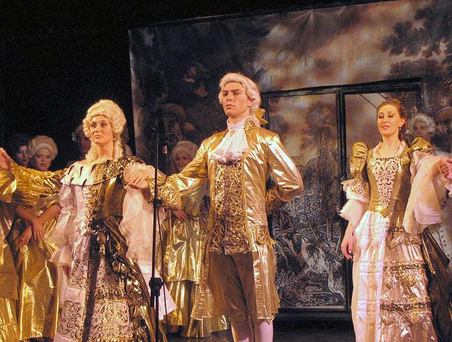 Дипломный спектакль Фигаро, Ростовская государственная консерватория имени Рахманинова