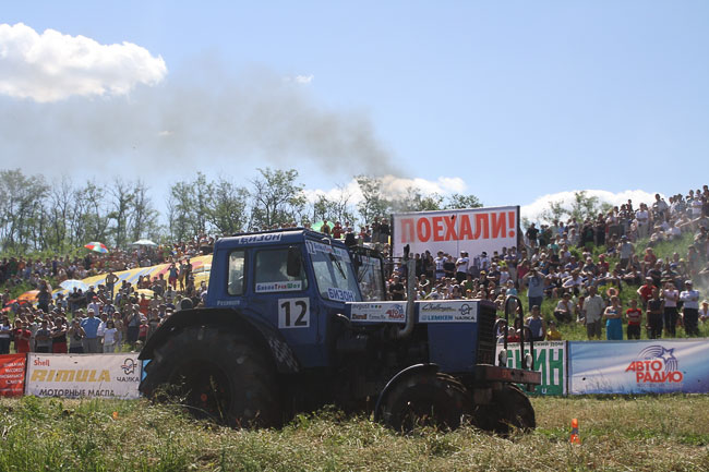 Бизон-трекшоу в Ростове-на-Дону