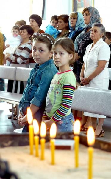 Приходская школа армянской апостольской церкви Сурб Аствацацин в селе Большие Салы Мясниковского района Ростовской области