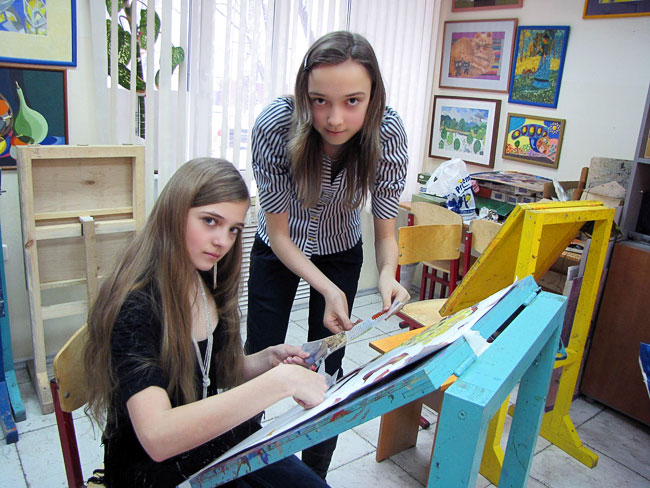 Частная художественная студия — школа Колмыковой в Ростове-на-Дону