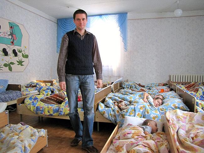 Иван Панов, воспитатель ростовского детского сада № 321 в Ростове-на-Дону