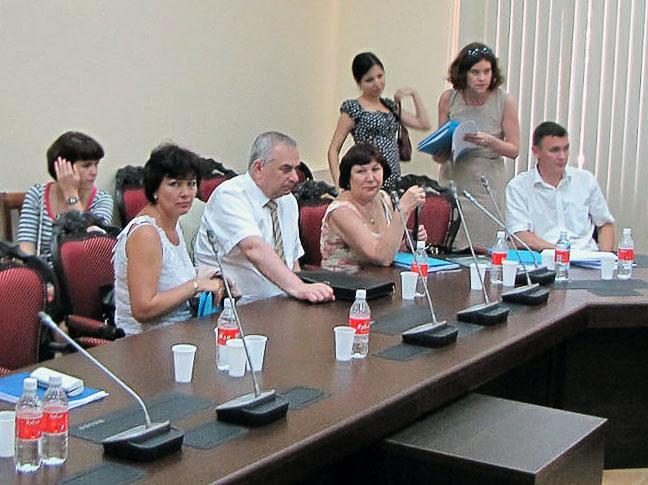 Расширенное выездное заседание Ученого совета республиканского НИИ интеллектуальной собственности в Ростове-на-Дону