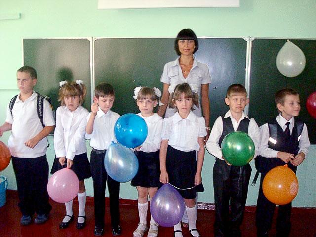 Первенцы Ресурсного центра - ученики 1 класса 50 школы, Ростов-на-Дону