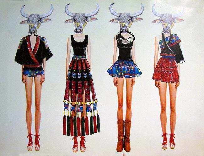 IV Международная выставка эскизной графики и модной иллюстрации в Ростовской детской картинной галерее