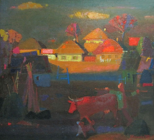 Последний луч Владимир Карначев,  выставка Владимира Карначева в Ростове-на-Дону, 2011