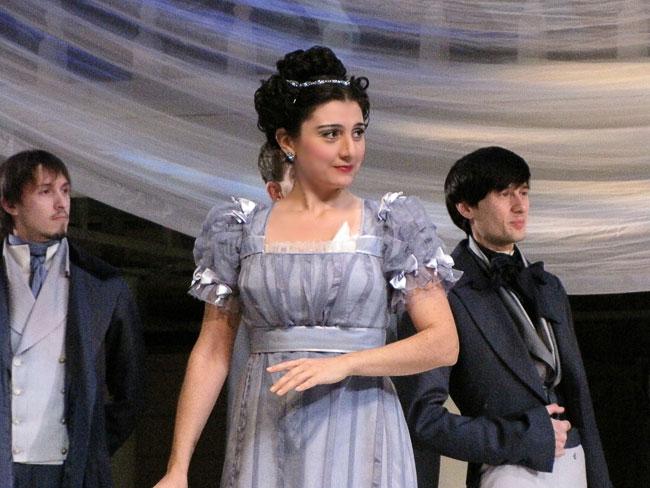 Ольга, она же Сюзанна, опера Свадьба Фигаро в Ростовском МузыкальномТеатре