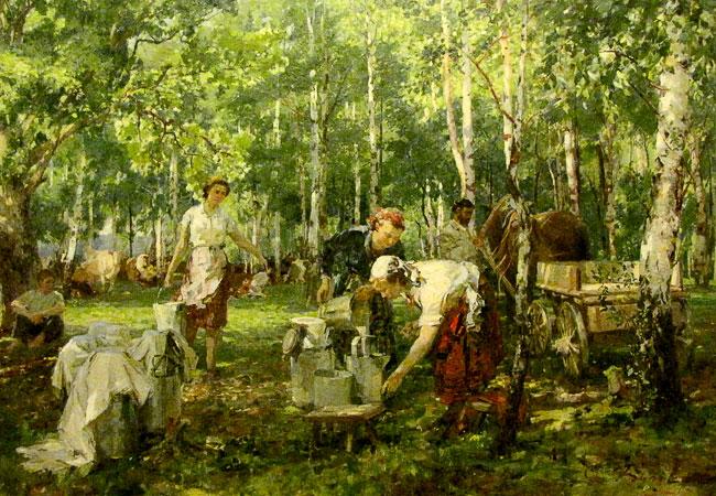 Сергей Буров 'Полдень', выставка в РОМИИ, Ростов-на-Дону