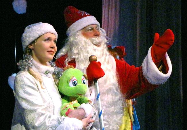 Новогоднее представление 2012 в Ростовском Молодежном театре