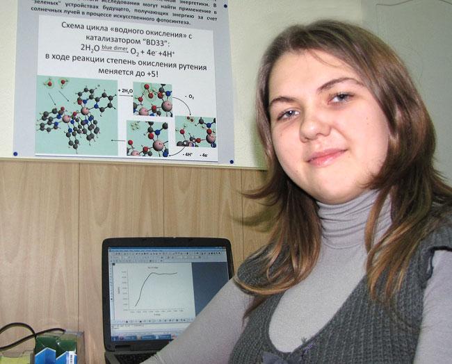 Юлиана Смирнова, студентка 3-его курса физфак ЮФУ
