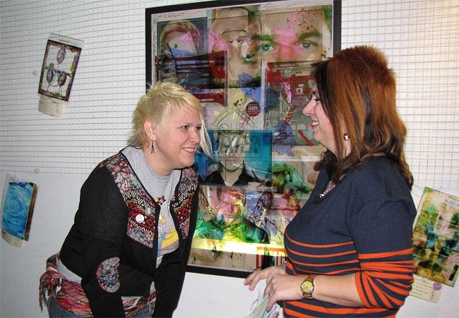 Выставка группы Белка и Стрелка в Ростовском Музее Современных изобразительных искусств