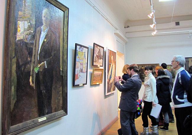 Выставка в РОМИИ, посвященная 95-летию донского художника Семена Скопцова, Ростов-на-Дону