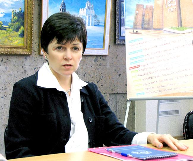 Директор Донской публичной библиотеки Евгения Колесникова