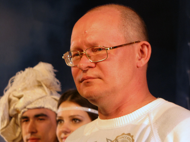 Игорь Черкашин на премьере  спектакля