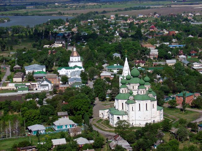 Единственный на юге России храм петровского времени - Воскресенский войсковой собор в Старочеркасской