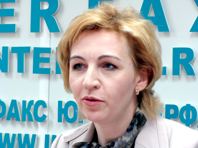 Министр общего и профессионального образования Ростовской области Лариса Балина