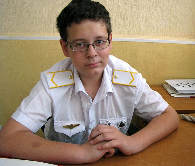 Сергей Тронин - начальник смены, Северо-Кавказская детская железная дорога