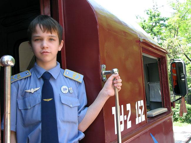 Игорь Дувакин - помощник машиниста, Северо-Кавказская детская железная дорога