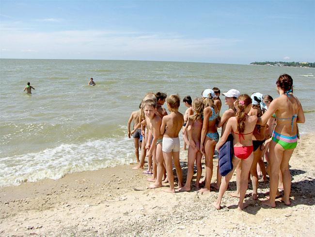 Детский отдых на Азовском море в Ростовской области