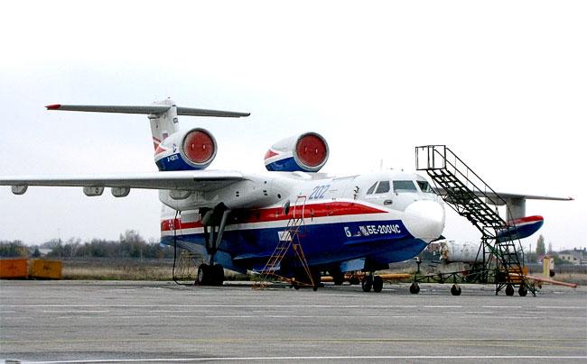 Самолет ОАО ТАНК имени Г. М. Бериева