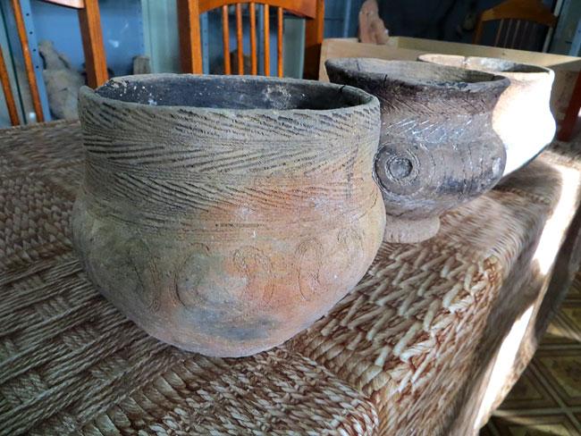 Керамика из курганного могильника Ливенцовский III, Ростов-на-Дону