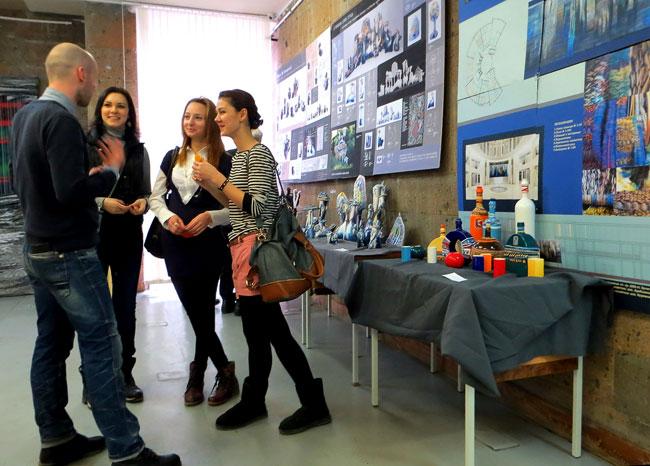выставка дипломных работ студентов кафедры декоративно-прикладного искусства факультета дизайна и искусств ЮФУ, 2013