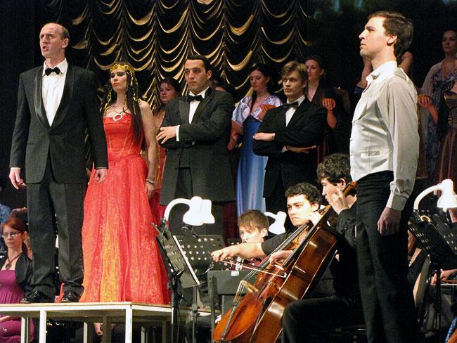 Концертное исполнение оперы Аида Ростовской консерваторией