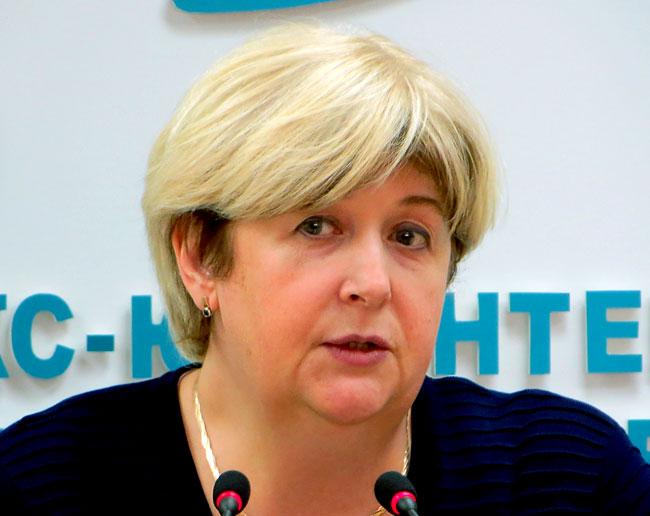 Ректор ЮФУ Марина Боровская