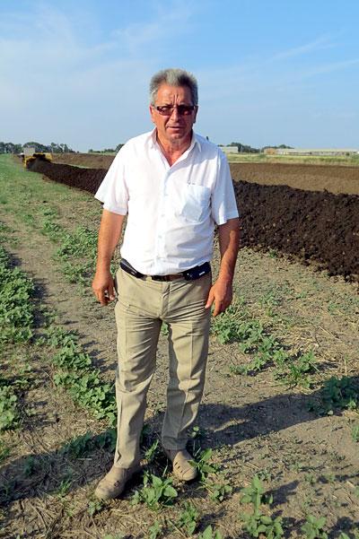 Председатель колхоза имени С. Г. Шаумяна Мясниковского района Ростовской области Хачатур Поркшеян