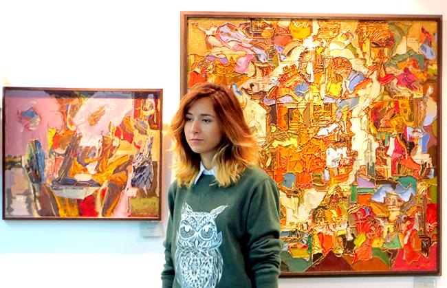 Ростовском музее современного изобразительного искусства открылась выставка художника Игоря Куркова