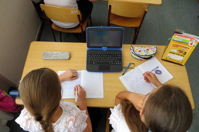 В междисциплинарном компьютерном классе