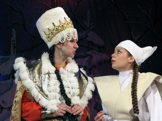 Новогоднее представление Шахтинского театра