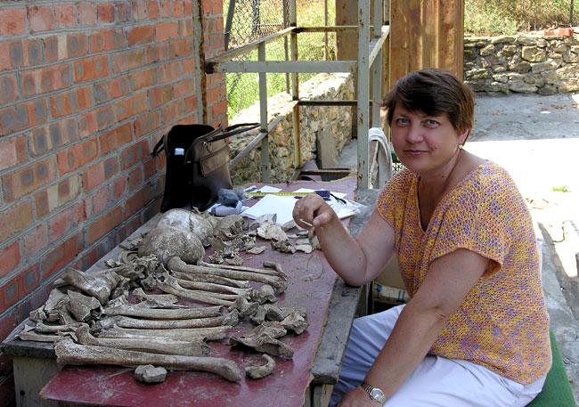 Антрополог Елена Батиева