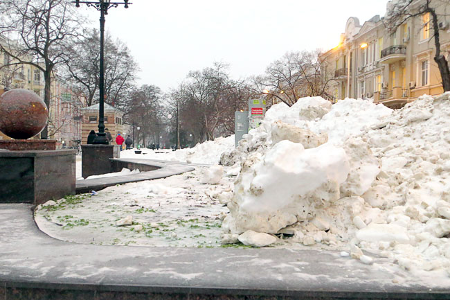 Ростовская зима 2014