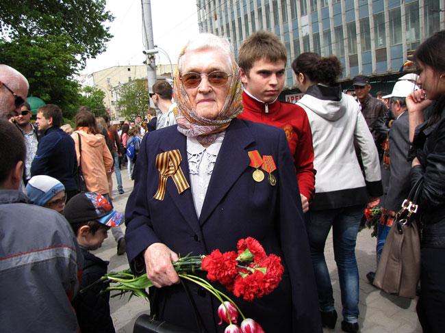 Парад Победы 9 мая 2014 года в Ростове-на-Дону