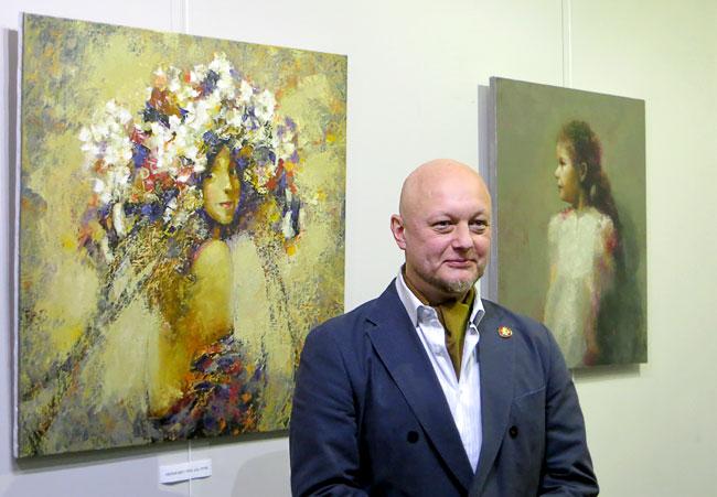 Выставка ростовского художника Владимира Рябчикова