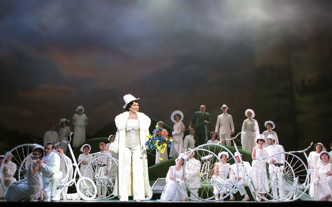Марица, постановка Ростовского музыкального театра