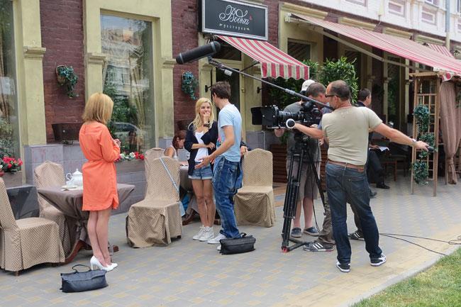 Съемки сериала Французская кулинария в Ростове-на-Дону