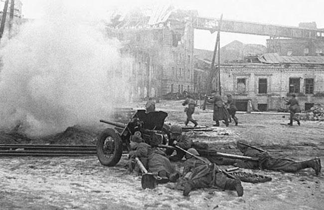 Ростовский вокзал февраль 1943 года