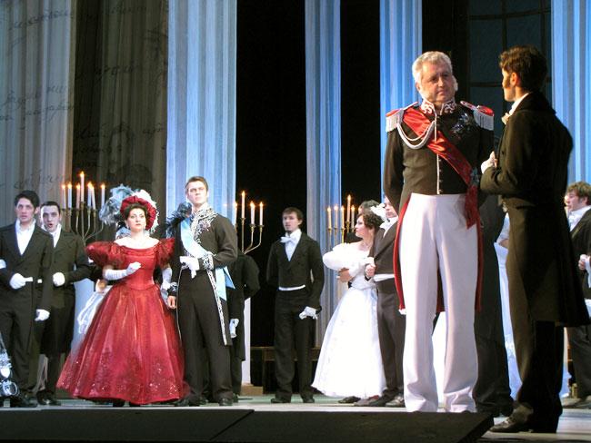 Опера Евгений Онегин, постановка Ростовского музыкального театра