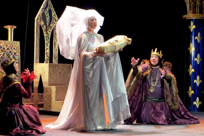 Новогодняя сказка Спящая красавица, постановка Таганрогского театра